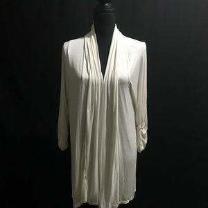 White Shawl Jacket